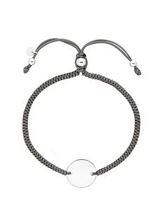 simply-silver-simply-silver-sterling-silver-personalised-engravable-disc-adjustable-grey-toggle-bracelet