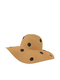 accessorize-polka-dot-floppy-hat-natural