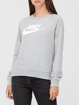 nike-nsw-essential-sweatshirt-dark-grey-heathernbsp