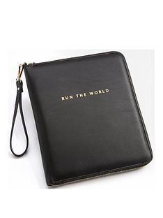black-pu-travel-organiser