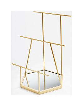 gold-mirrored-jewellery-stand