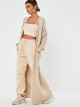missguided-missguided-maxi-patch-pocket-cardigan-stone