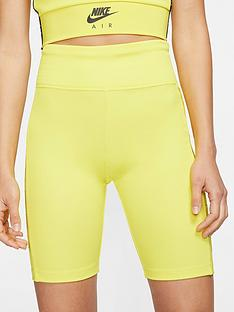 nike-nsw-air-bike-shorts-yellow