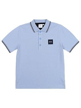 boss-boys-short-sleeve-box-logo-polo
