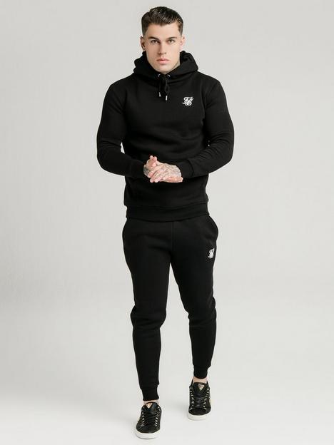 sik-silk-muscle-fit-overhead-hoodie-black