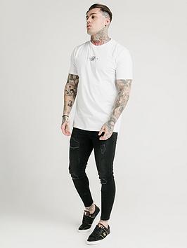 sik-silk-short-sleeve-square-hem-t-shirtnbsp--white