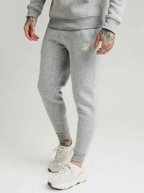 sik-silk-muscle-fit-jogger-grey-marl