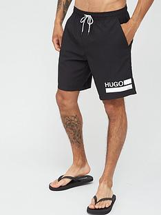 hugo-bondi-logo-swim-shorts-black