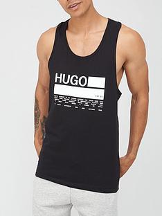 hugo-long-logo-vest-black