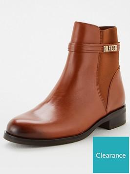 tommy-hilfiger-block-branding-flat-boot-brown