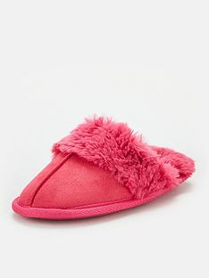 v-by-very-girls-mule-slipper-pink