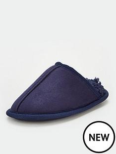 v-by-very-boys-mule-slipper-navy