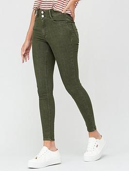 v-by-very-shaping-skinny-jean-khaki