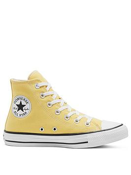 converse-chuck-taylor-all-star-hi-tops-yellownbsp