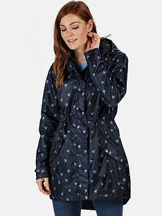 regatta-tanisha-animal-print-waterproof-parka-navynbsp