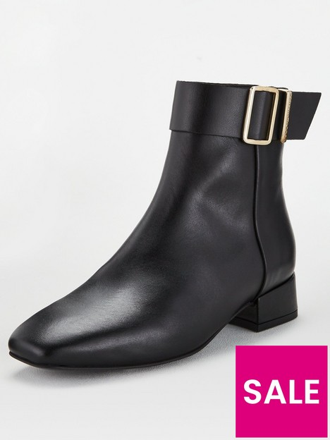 tommy-hilfiger-leather-square-toe-mid-heel-boots-black