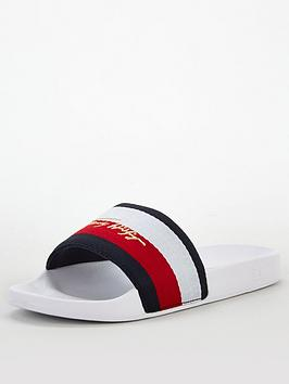 tommy-hilfiger-signature-pool-slide-white