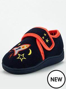 v-by-very-boys-strap-slipper-navy