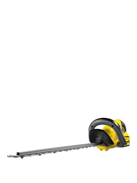 karcher-hge-18-50-cordless-hedge-trimmer-battery-set