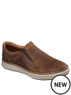 skechers-moreno-slip-on-shoes-brown