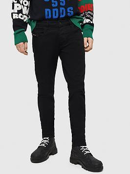 diesel-d-bazer-tapered-fit-black-jeans