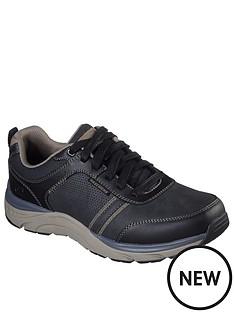 skechers-sentinal-lunder-lace-up-shoes-black