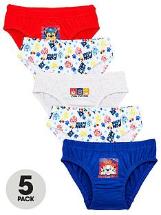 paw-patrol-boys-5-packnbspgaming-briefs-multi