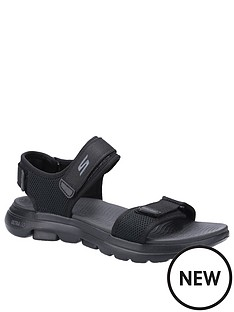 skechers-gowalk-5-velcro-sandals-black