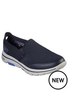 skechers-gowalk-5-slip-on-trainers-navy