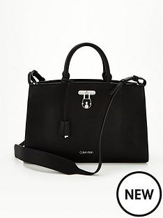 calvin-klein-lock-business-tote-bag-black
