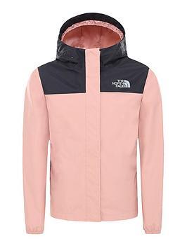 the-north-face-girls-resolve-reflective-jacket-pink-black