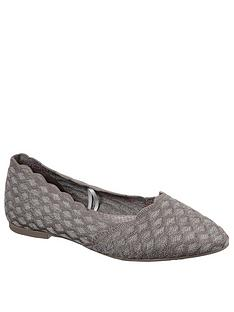 skechers-cleo-ballerina-pumps-dark-taupe