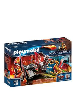 playmobil-playmobil-70226-novelmore-knights-burnham-raiders-dragon-training-with-fireball-catapult