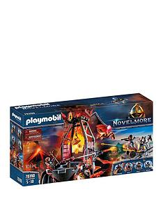 playmobil-playmobil-70390-novelmore-knights-burnham-raiders-lava-mine-with-fire-launchers