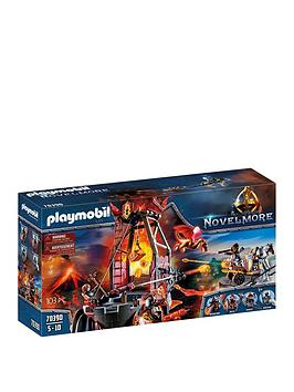 playmobil-playmobil-70390-novelmore-knights-burnham-raiders-lava-mine-with-fire-launchers