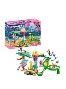 playmobil-playmobil-70094-magic-mermaids-coral-marble-run-with-illuminated-dome