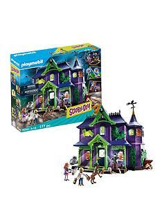 prod1089584034: Playmobil 70361 Scooby Doo!© Mystery Mansion