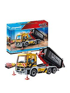 playmobil-playmobil-70444-city-action-construction-truck-with-tilting-trailer