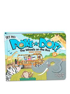 prod1089843622: Poke-A-Dot The Wheels on the Bus Wild Safari Book