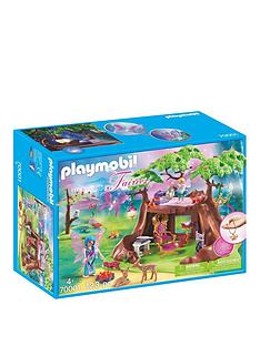 playmobil-playmobil-70001-fairy-forest-house-with-7-animals