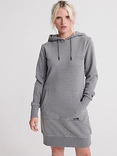 superdry-orange-label-sweat-dress-grey