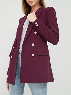 v-by-very-military-blazer-burgundy