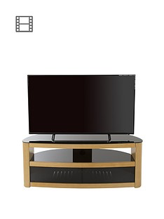 avf-burghley-affinity-curved-1250-tv-standnbsp--oakblack--nbspfits-up-to-65-inch-tv
