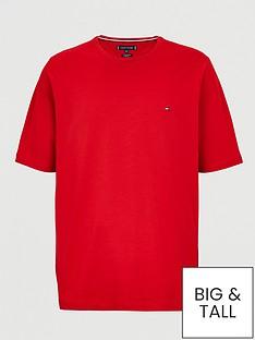 tommy-hilfiger-big-amp-tall-stretch-slim-fit-t-shirt-red
