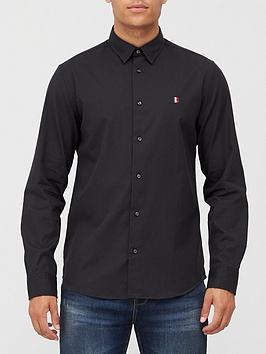 tommy-hilfiger-modern-essential-shirt-black