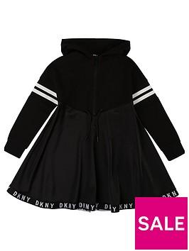 dkny-girls-hooded-logo-tape-sweat-dress