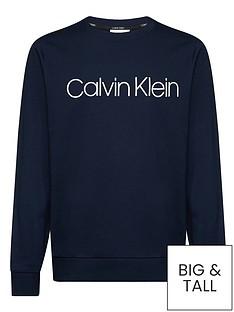 calvin-klein-cotton-logo-sweatshirt-navy