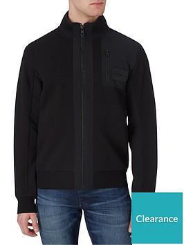 calvin-klein-jeans-mixed-media-zip-thrunbspjumper-blacknbsp