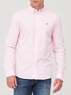 tommy-jeans-tjm-stretch-oxford-shirt-pink