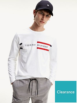 tommy-hilfiger-corp-chest-stripe-long-sleeve-t-shirt-white
